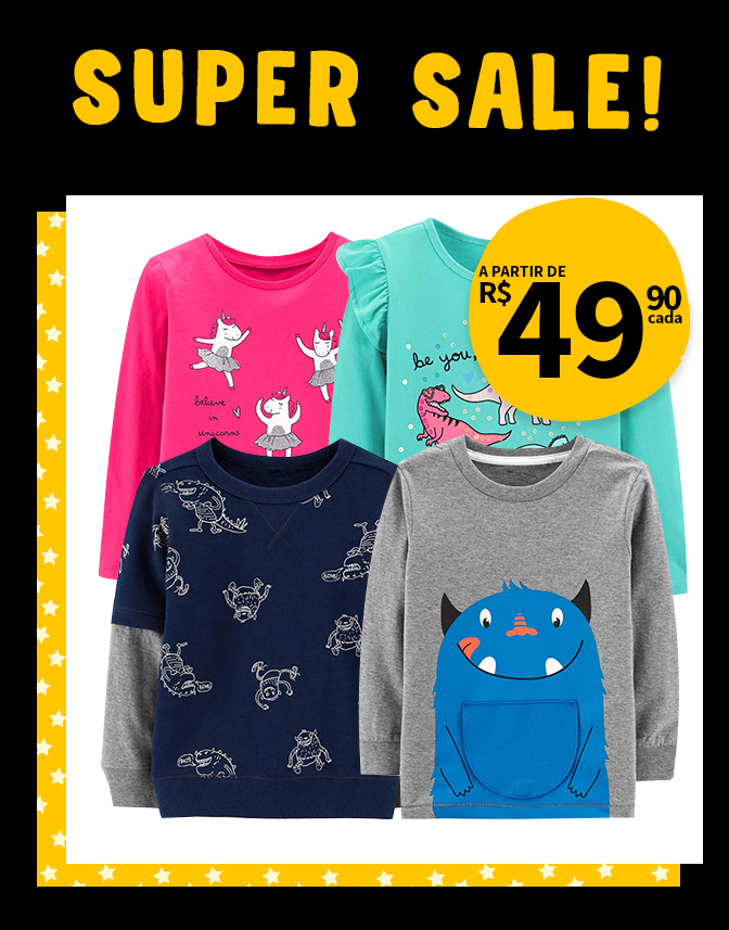 Super Sale Black Kids { Banner camisetas } MOBILE