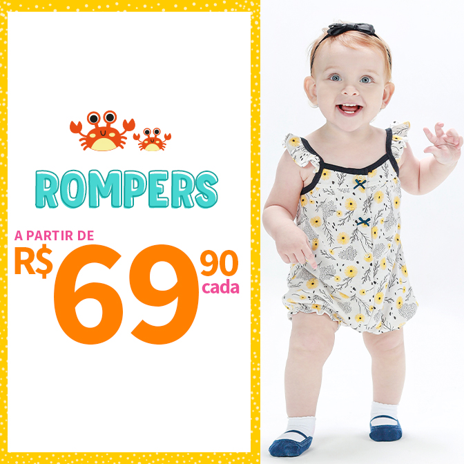 First Steps { Rompers- Banner } - MOBILE