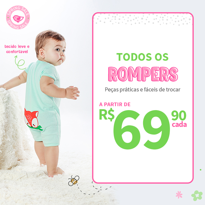 SPRING MOBILE{BANNER - ROMPERS}