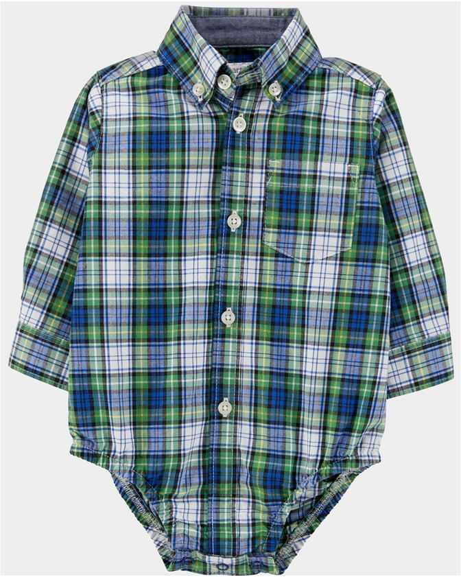 body-camisa-carters-green-plaid